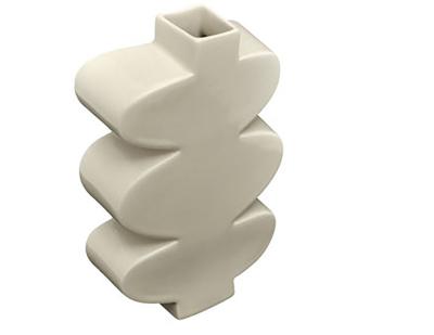 Leaf Vase White