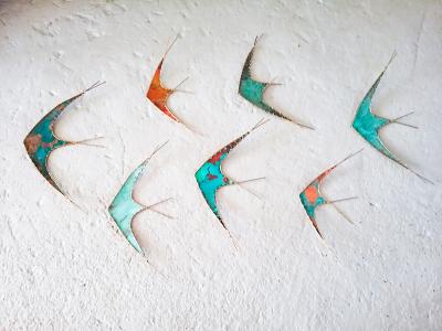 Flight (Group of Seven Birds)