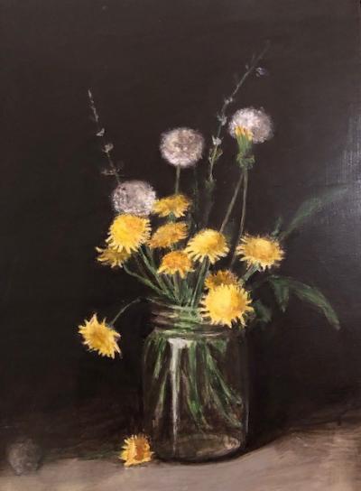 Vase of Weeds