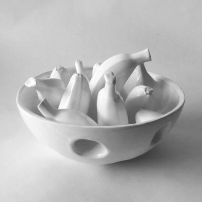 Holey Small Banana Bowl #1