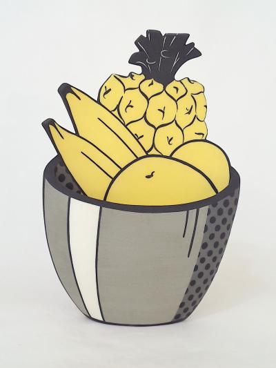 Tropical fruit Bowl after Lichtenstein
