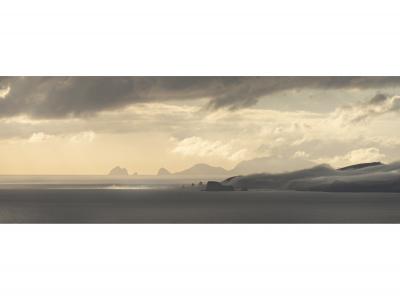 Matauri Bay looking toward Cape Brett, February 2021, 8.08 am