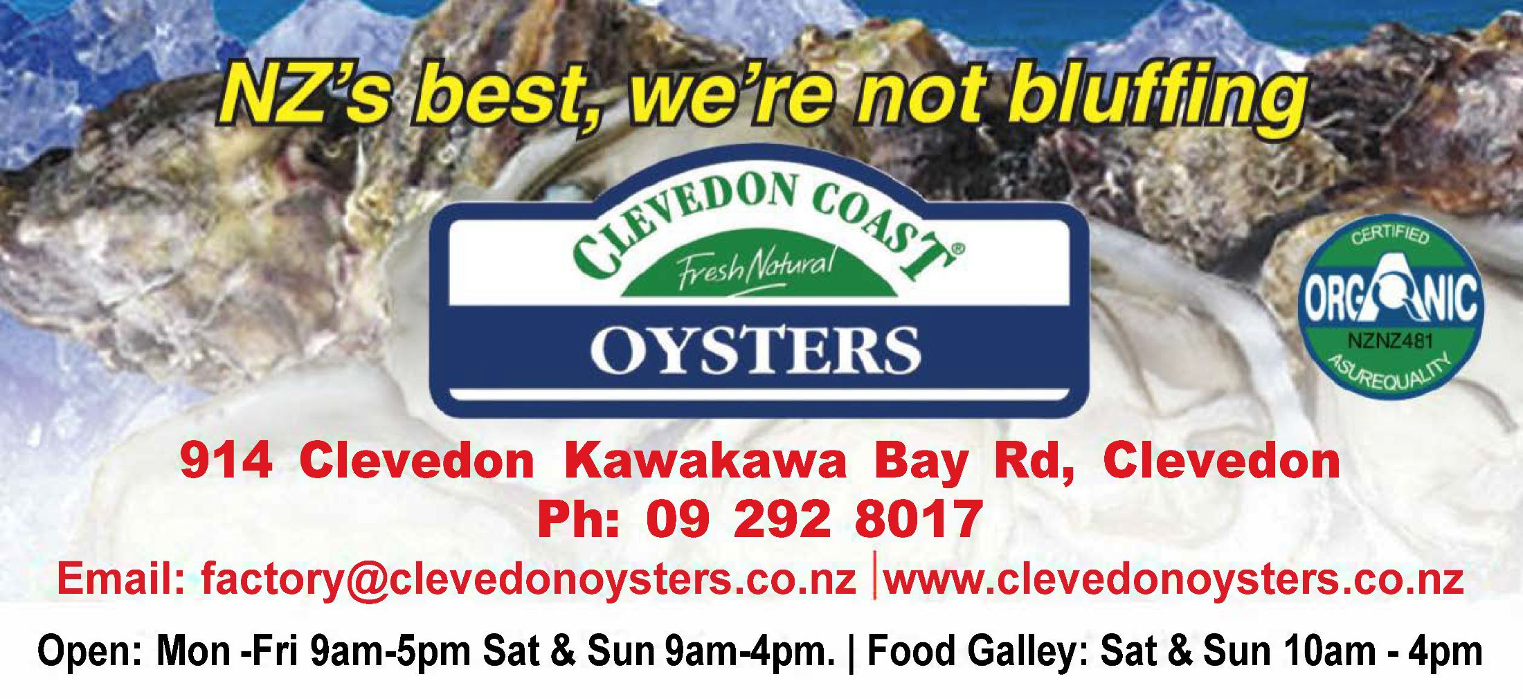 Clevedon Oysters