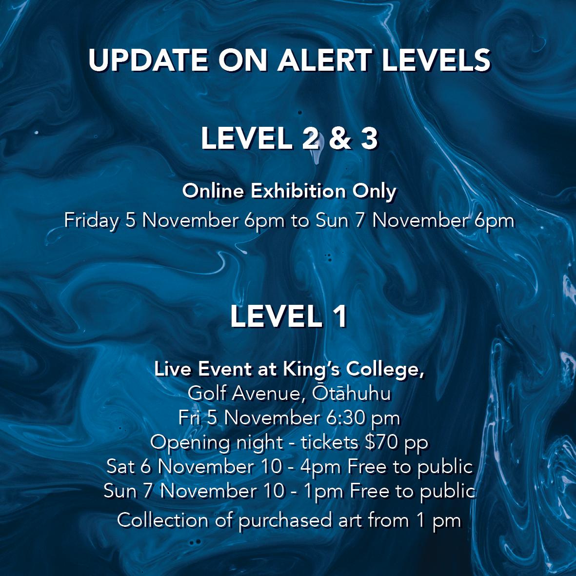 Alert Level Update Web
