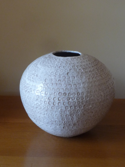White Patterned Orb