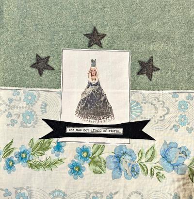 Brave Mary Cushion