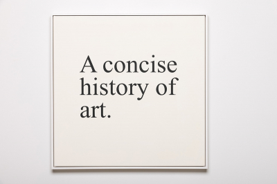 A concise history of art